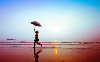 caption hujan terbaik